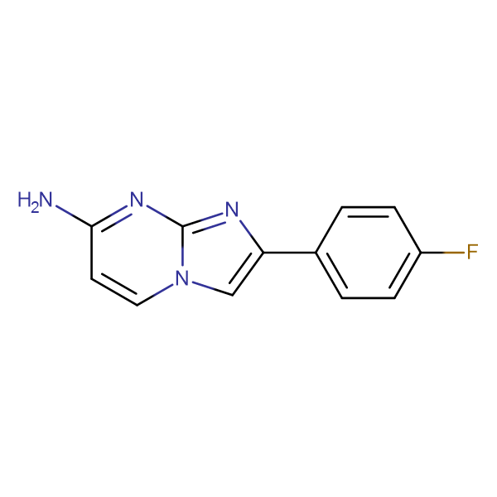 2-(4-FLUOROPHENYL)IMIDAZO[1,2-A]PYRIMIDIN-7-AMINE