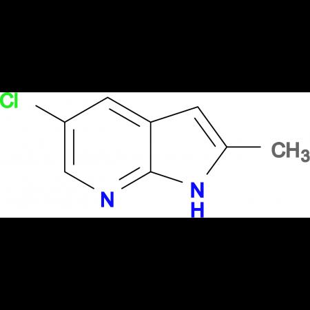 5-CHLORO-2-METHYL-1H-PYRROLO[2,3-B]PYRIDINE