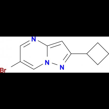 6-BROMO-2-CYCLOBUTYLPYRAZOLO[1,5-A]PYRIMIDINE