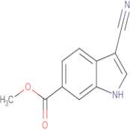 METHYL 3-CYANO-1H-INDOLE-6-CARBOXYLATE
