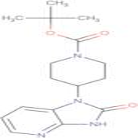 TERT-BUTYL 4-(2-OXO-2,3-DIHYDRO-1H-IMIDAZO[4,5-B]PYRIDIN-1-YL)PIPERIDINE-1-CARBOXYLATE