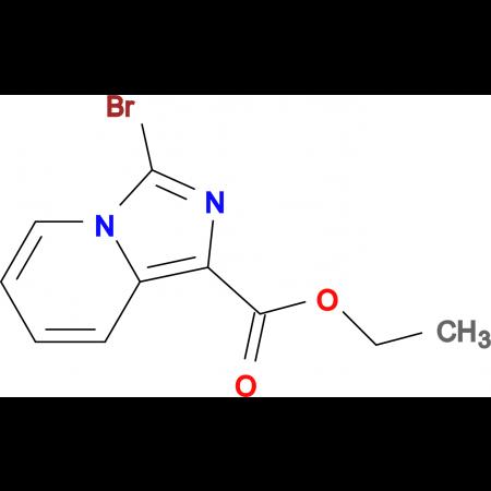 ETHYL 3-BROMOIMIDAZO[1,5-A]PYRIDINE-1-CARBOXYLATE