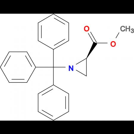 METHYL (R)-1-TRITYL-2-AZIRIDINECARBOXYLATE