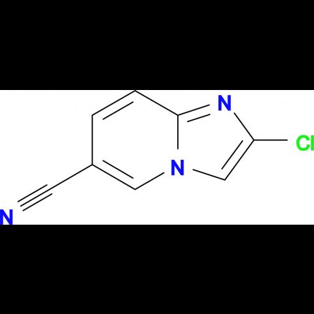2-CHLOROIMIDAZO[1,2-A]PYRIDINE-6-CARBONITRILE