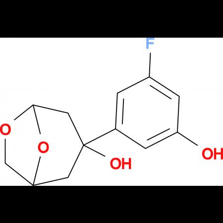 3-(3-FLUORO-5-HYDROXYPHENYL)-6,8-DIOXABICYCLO[3.2.1]OCTAN-3-OL