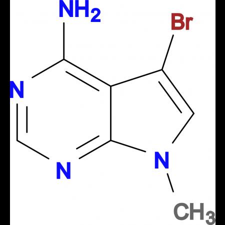 5-BROMO-7-METHYL-7H-PYRROLO[2,3-D]PYRIMIDIN-4-AMINE
