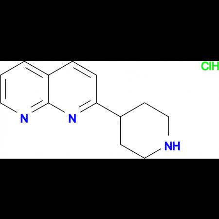 2-(Piperidin-4-yl)-1,8-naphthyridine hydrochloride