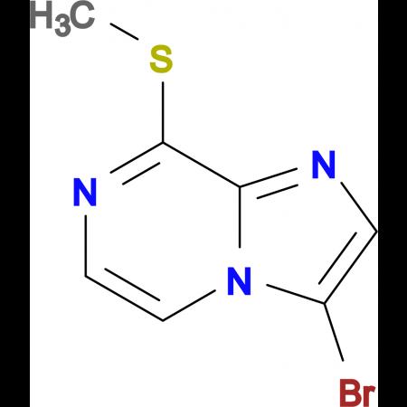 3-BROMO-8-(METHYLTHIO)IMIDAZO[1,2-A]PYRAZINE