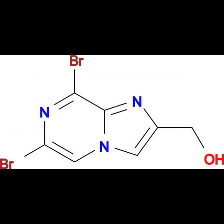 (6,8-DIBROMOIMIDAZO[1,2-A]PYRAZIN-2-YL)METHANOL