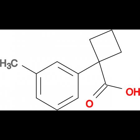 1-(3-METHYLPHENYL)CYCLOBUTANECARBOXYLIC ACID