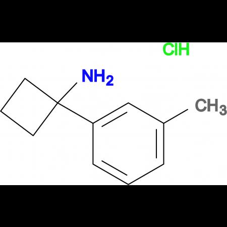 1-(3-METHYLPHENYL)CYCLOBUTAN-1-AMINE HCL