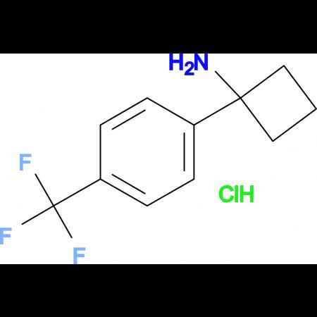 1-[4-(Trifluoromethyl)phenyl]cyclobutan-1-amine hydrochloride