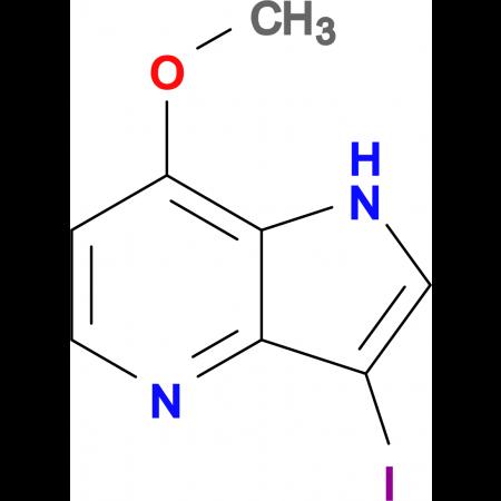 3-IODO-7-METHOXY-1H-PYRROLO[3,2-B]PYRIDINE