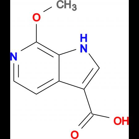 7-METHOXY-1H-PYRROLO[2,3-C]PYRIDINE-3-CARBOXYLIC ACID
