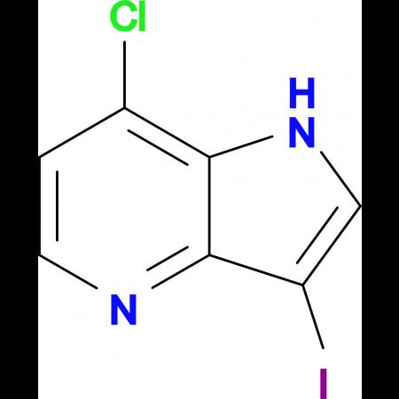 7-CHLORO-3-IODO-1H-PYRROLO[3,2-B]PYRIDINE
