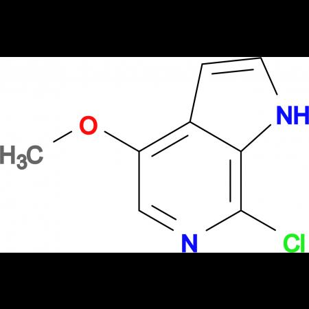 7-CHLORO-4-METHOXY-1H-PYRROLO[2,3-C]PYRIDINE
