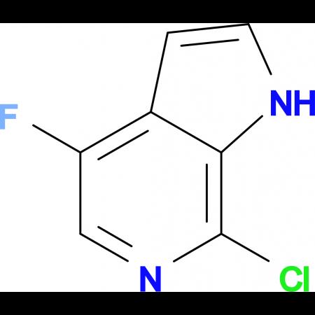 7-CHLORO-4-FLUORO-1H-PYRROLO[2,3-C]PYRIDINE