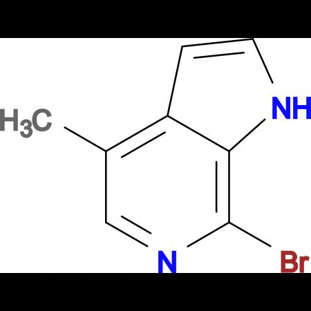7-BROMO-4-METHYL-1H-PYRROLO[2,3-C]PYRIDINE