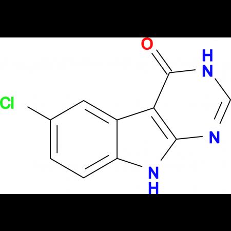 6-CHLORO-3H-PYRIMIDO[4,5-B]INDOL-4(9H)-ONE