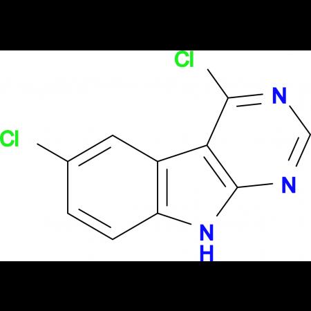 4,6-DICHLORO-9H-PYRIMIDO[4,5-B]INDOLE