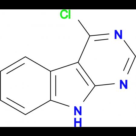 4-Chloro-9H-Pyrimido[4,5-b]indole