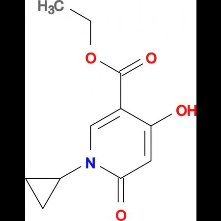 ETHYL 1-CYCLOPROPYL-4-HYDROXY-6-OXO-1,6-DIHYDROPYRIDINE- 3-CARBOXYLATE