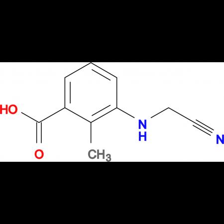 3-(CYANOMETHYLAMINO)-2-METHYLBENZOIC ACID