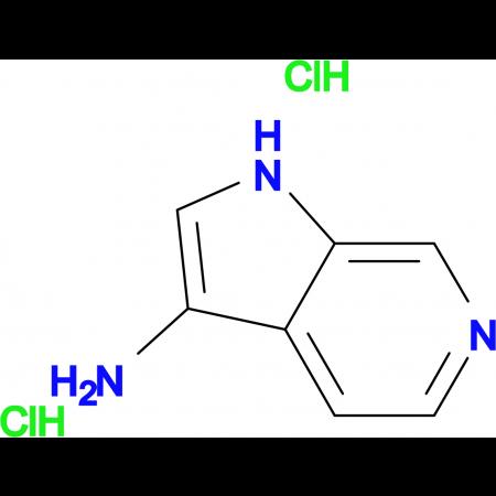 1H-PYRROLO[2,3-C]PYRIDIN-3-AMINE 2HCL