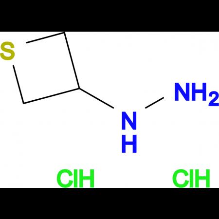 1-(THIETAN-3-YL)HYDRAZINE 2HCL