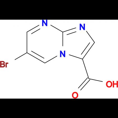 6-BROMOIMIDAZO[1,2-A]PYRIMIDINE-3-CARBOXYLIC ACID