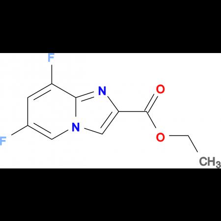 ETHYL 6,8-DIFLUOROIMIDAZO[1,2-A]PYRIDINE-2-CARBOXYLATE