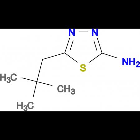 5-(2,2-dimethylpropyl)-1,3,4-thiadiazol-2-amine