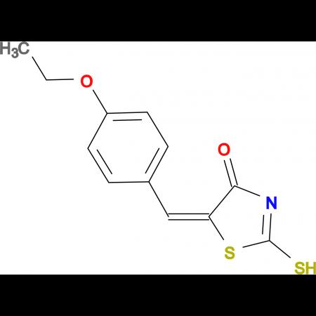 (5E)-5-(4-ethoxybenzylidene)-2-mercapto-1,3-thiazol-4(5H)-one