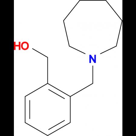 [2-(azepan-1-ylmethyl)phenyl]methanol