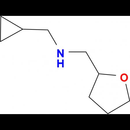(cyclopropylmethyl)(tetrahydrofuran-2-ylmethyl)amine