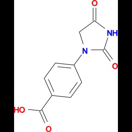 4-(2,4-dioxoimidazolidin-1-yl)benzoic acid