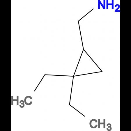 1-(2,2-diethylcyclopropyl)methanamine
