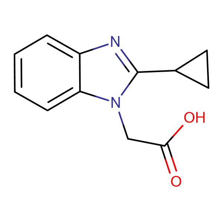 (2-cyclopropyl-1H-benzimidazol-1-yl)acetic acid