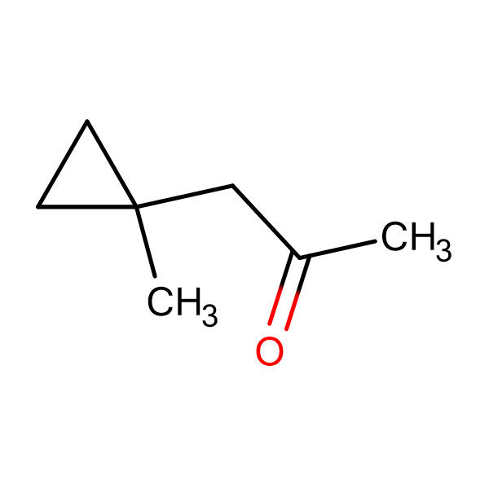 1-(1-methylcyclopropyl)acetone