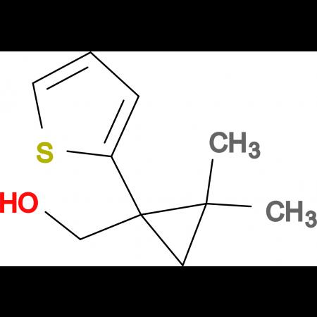 [2,2-dimethyl-1-(2-thienyl)cyclopropyl]methanol