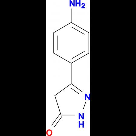 5-(4-aminophenyl)-2,4-dihydro-3H-pyrazol-3-one