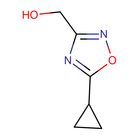 (5-cyclopropyl-1,2,4-oxadiazol-3-yl)methanol
