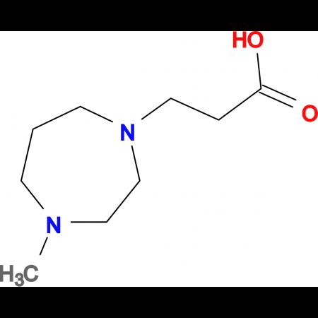 3-(4-methyl-1,4-diazepan-1-yl)propanoic acid