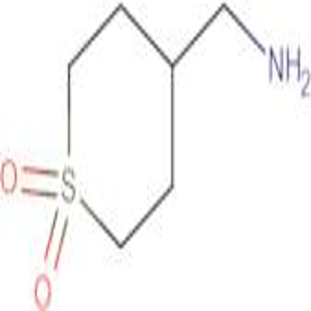[(1,1-dioxidotetrahydro-2H-thiopyran-4-yl)methyl]amine