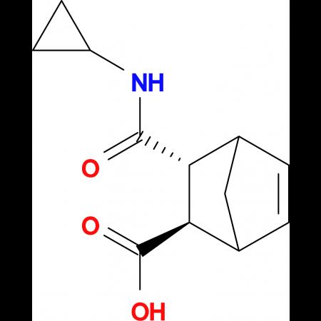 (2R,3R)-3-[(cyclopropylamino)carbonyl]bicyclo[2.2.1]hept-5-ene-2-carboxylic acid