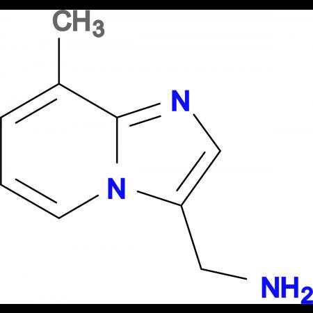 1-(8-methylimidazo[1,2-a]pyridin-3-yl)methanamine