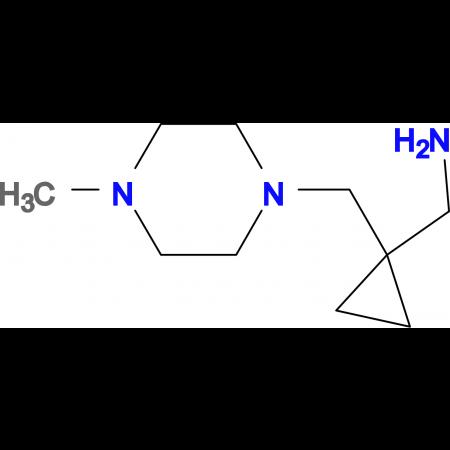 ({1-[(4-methyl-1-piperazinyl)methyl]cyclopropyl}methyl)amine