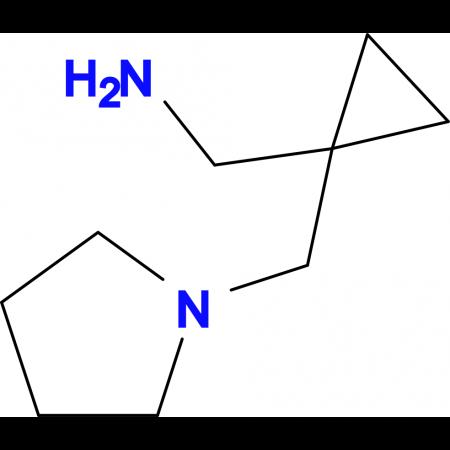 1-[1-(1-pyrrolidinylmethyl)cyclopropyl]methanamine