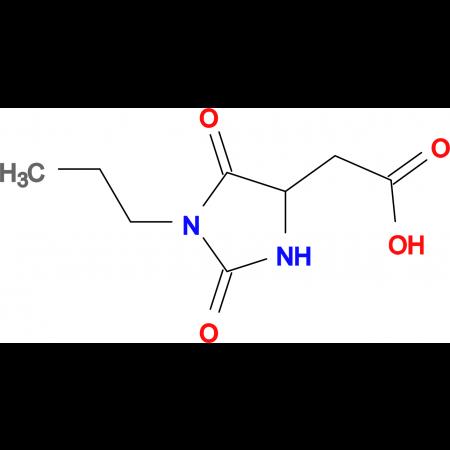 (2,5-dioxo-1-propyl-4-imidazolidinyl)acetic acid