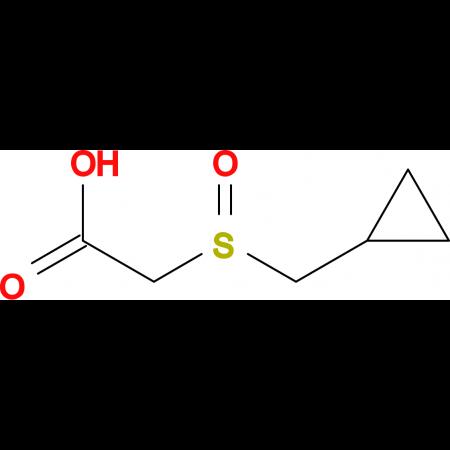 [(cyclopropylmethyl)sulfinyl]acetic acid